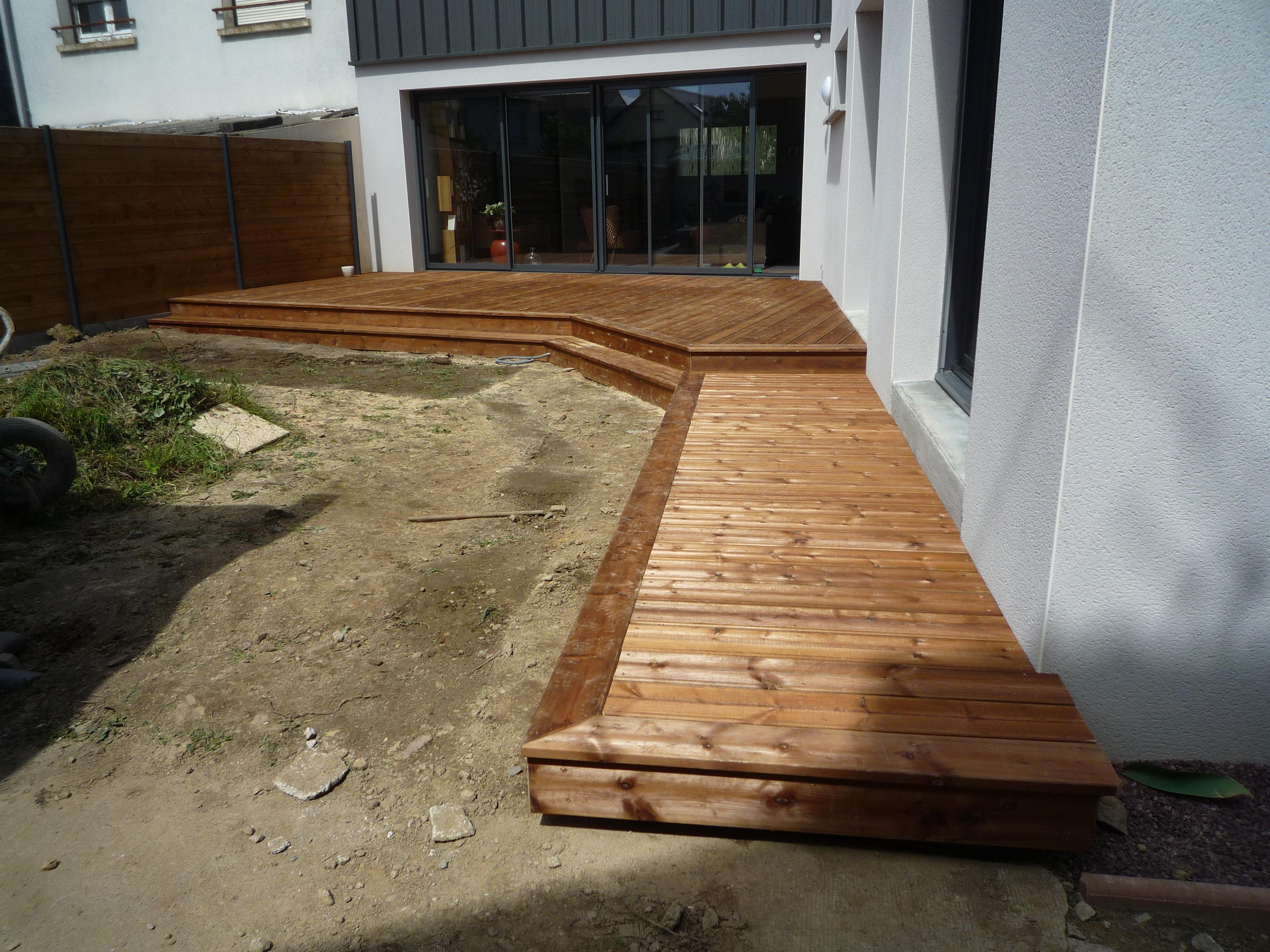 am nagement ext rieur de maison en ille et vilaine 35 terrasse bois. Black Bedroom Furniture Sets. Home Design Ideas